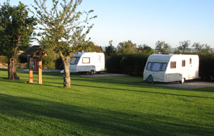 Quiet Caravan site North Yorkshire Moors